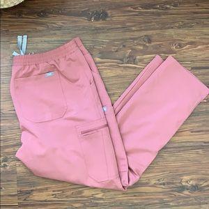 Figs Yola-skinny scrub pants, size L/P. NWOT